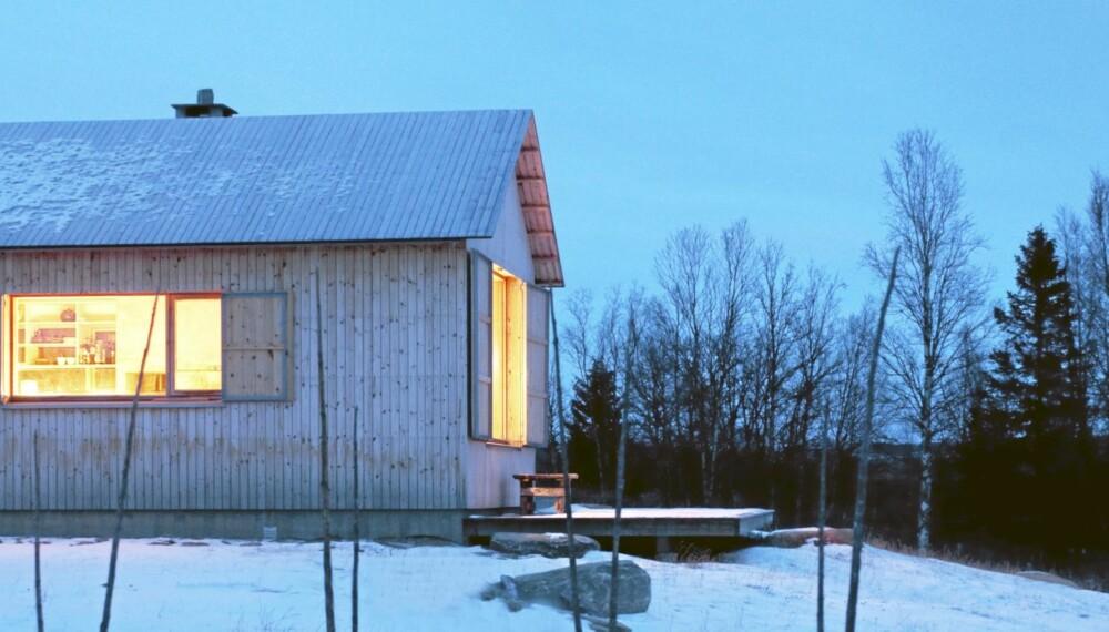 WALLPAPER-FAVORITT: Takket være blant annet denne Valdres-hytta kåret trendmagasinet Wallpaper ifjor Atle Aas og Harald Thaulow  til å være blant verdens 30 beste arkitekter.