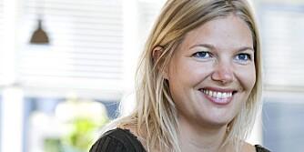 ARKITEKT: Karina Søgaard (33) har tegnet foreldrenes sommerhus.