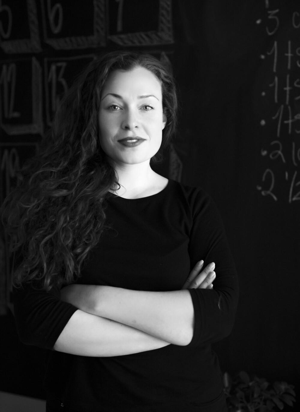EKSPERT: Interiørarkitekt Cecilie Claussen.