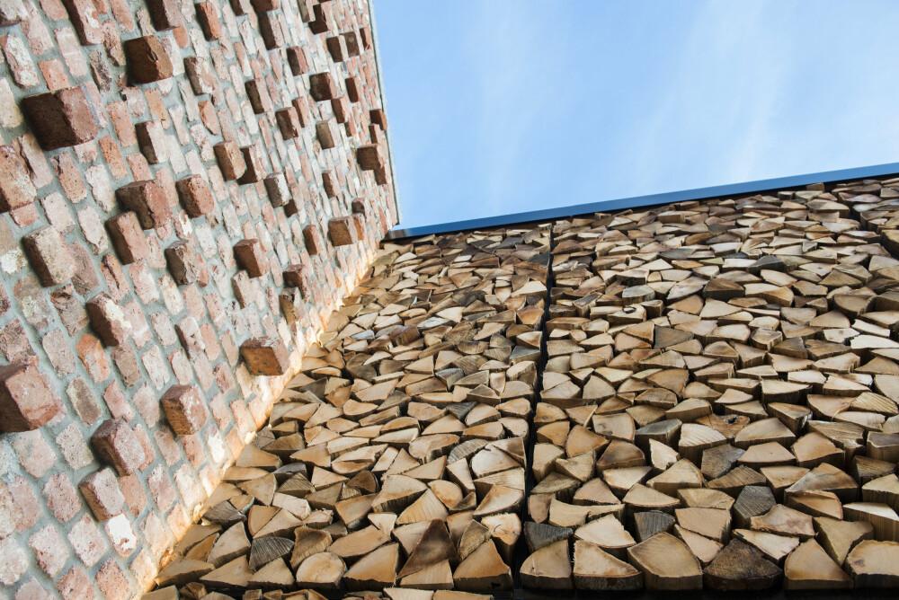 NATURMATERIALER: Huset har en bevisst materialbruk. Den skal blant annet være giftfri.