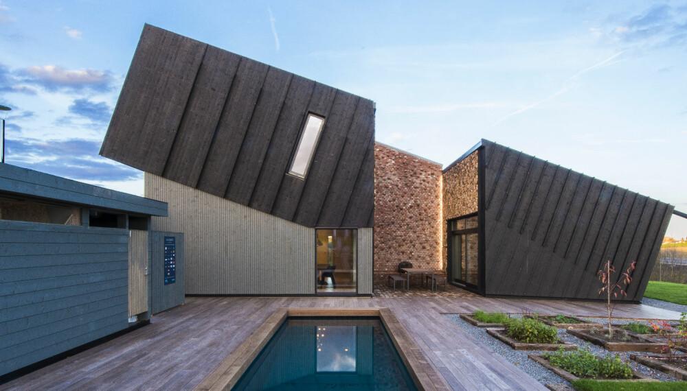 PLUSSHUS: Dette huset produserer mer energi enn det forbruker.