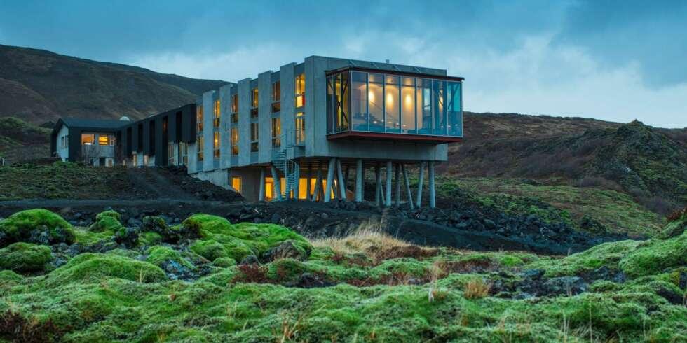 Kunne du tenke deg bo her arkitektur for Designhotel unna