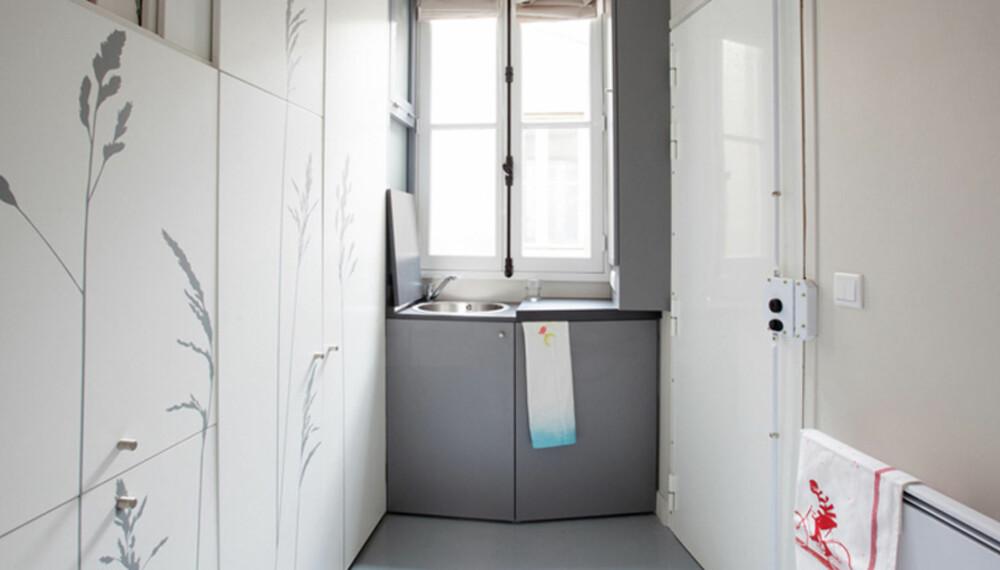 BRETTER UT: Du aner ikke alle rommene de har klart å klemme inn på bare 8 m2.