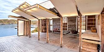 Mange muligheter: TYIN tegnestue Arkitekter har tegnet og bygd mye i tre. Her et herlig naust som ligger på Aure.