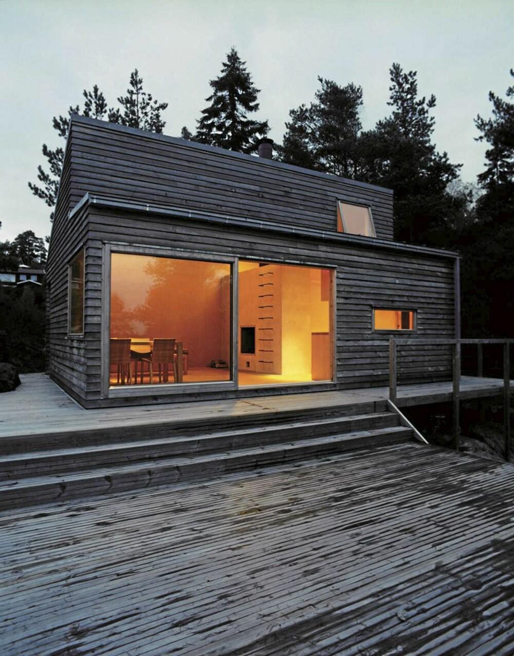 KOMPAKT: Arkitekt Marianne Borge har tegnet Woody 35, en modell som kommer i tre størrelser.
