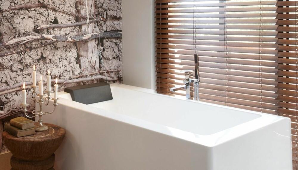 I NAMIBIA: På hotell The Olive Exclusive opplever du interiør som er i stor grad baserer seg på resirkulerte materialer.