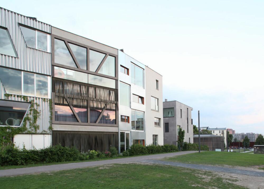 BERLIN: Dette byhuset er langt mer overraskende på innsiden enn det er på utsiden.