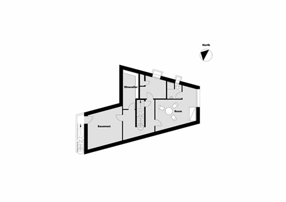 Villa Alstrup. Plusshus. Danmark.