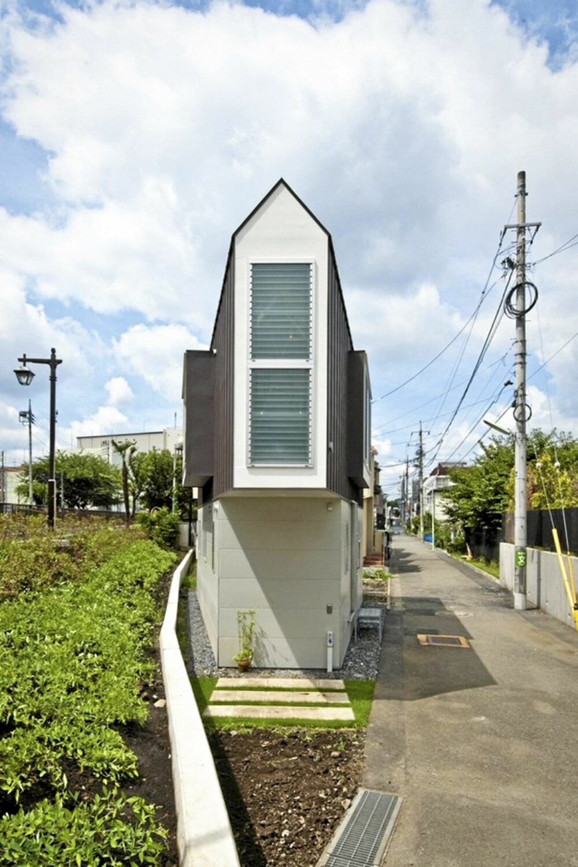 LANG OG TYNN: River Side House har med sine unike arkitektur blitt nokså kjent i Japan.