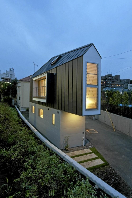 PLANLØSNING: Arkitektene passet på at planløsningen i det lille huset ble så funksjonell som mulig.