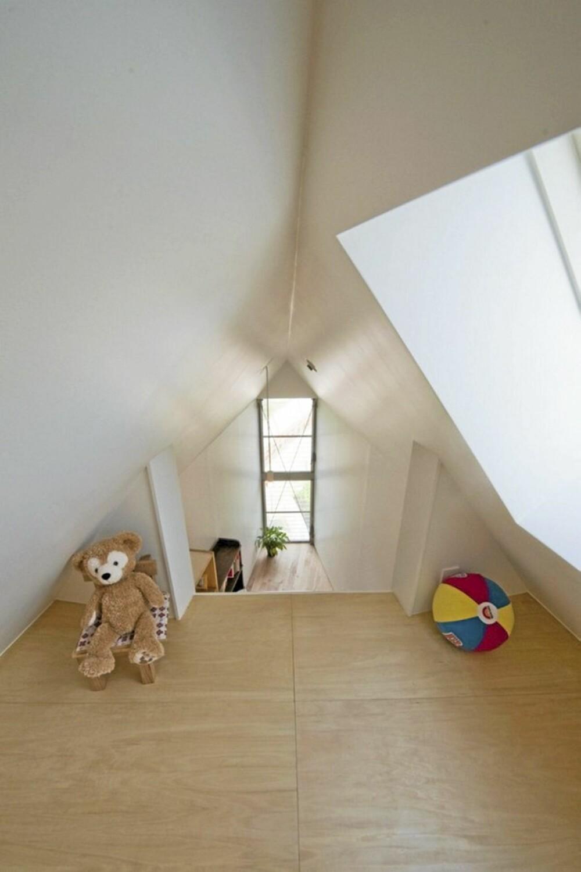 UNIK: Det mangler ikke på smarte løsninger i det lille huset i utkanten av Tokyo.