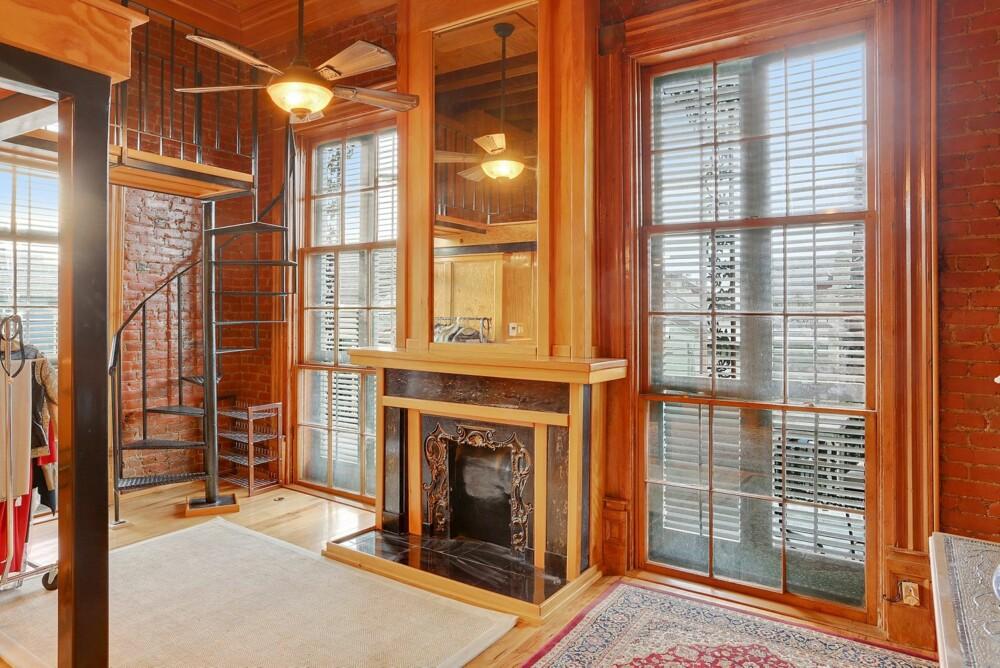 RENOVERT: Huset er nå gjort om til seks moderne leiligheter.
