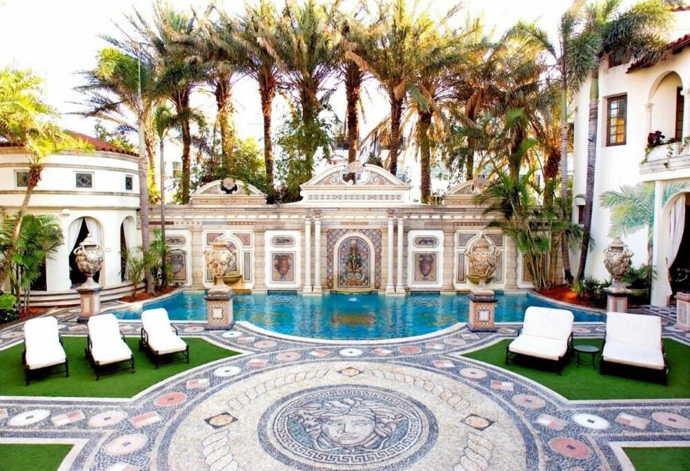 ET REISEMÅL I SEG SELV: Gianni Versaces hus skal nå bli hotell.