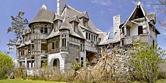 SKUMMELT: Ja, dette ligner et ekte spøkelseshus.