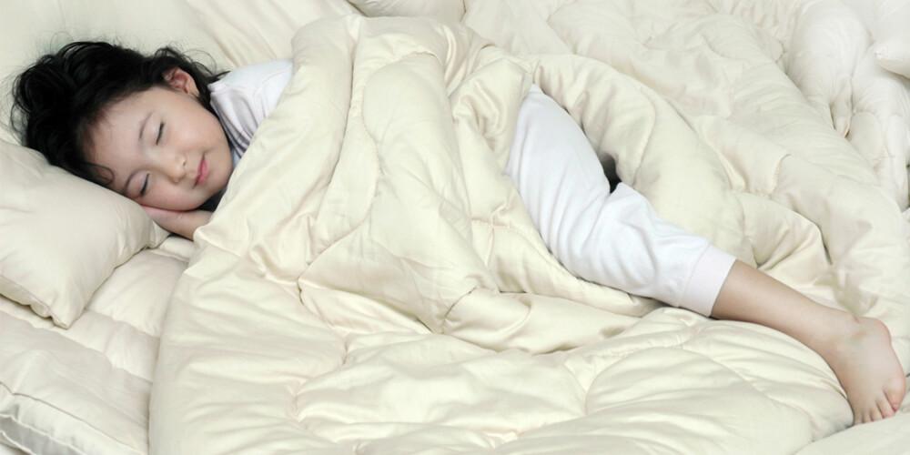 SOV SØTT: Hvem vil vel ikke sove bedre om man vet man sover på en ren og pen madrass?