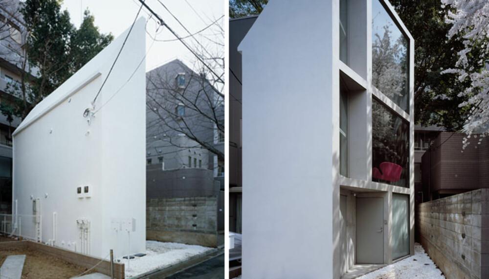 SIDELENGS: Arkitektene snudde huset bort fra veien for å få mer lys.