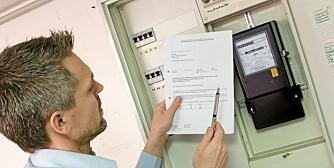 ENERGISPARING: Med enkle tiltak, kan måleravlesningen bli en hyggelig øvelse.