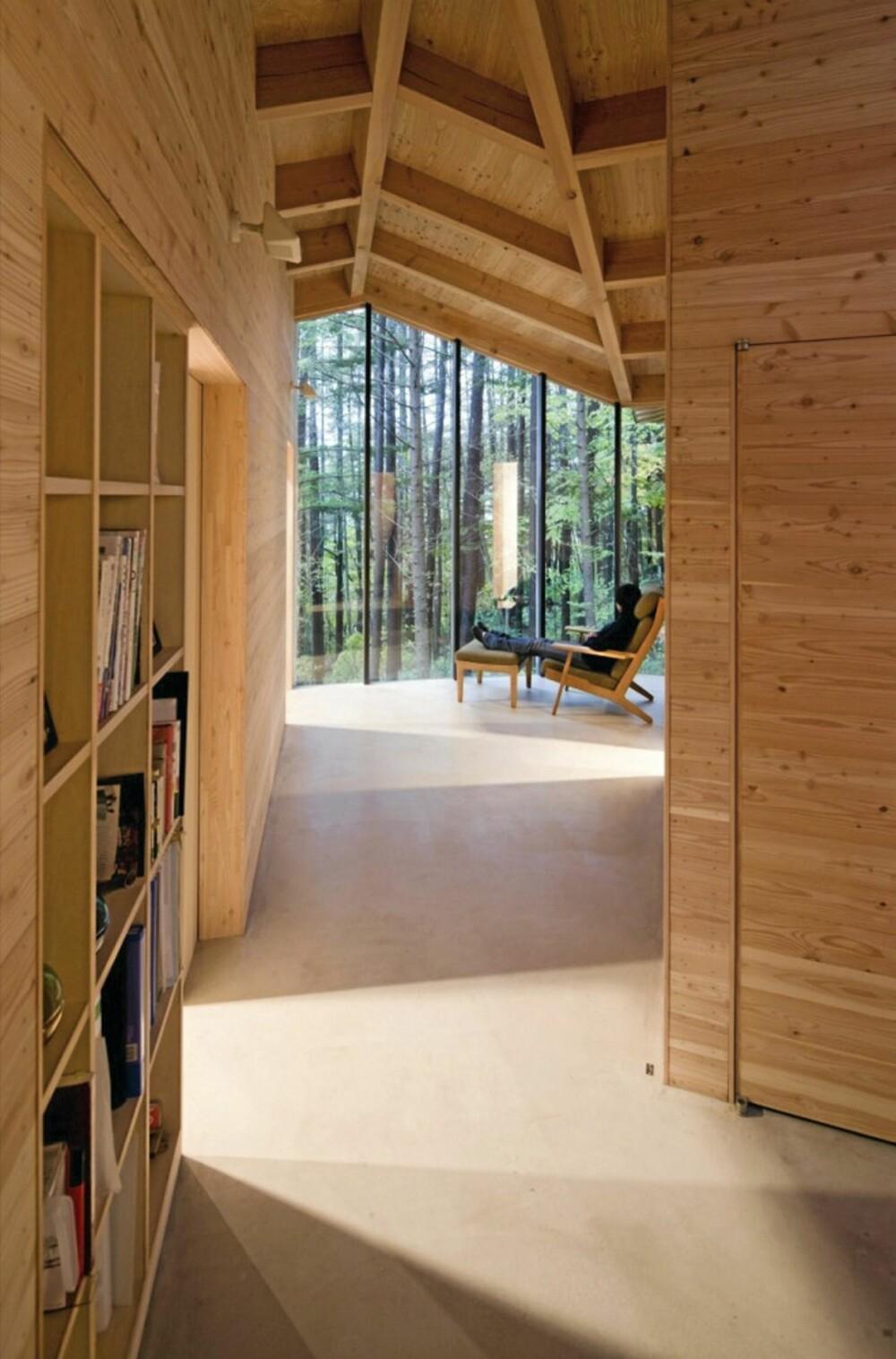 SMÅ SMUG: Hvert rom varierer i størrelse og tanken er at huset skal simulere smugene i en by.