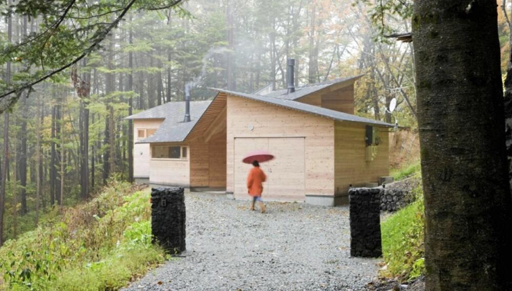 VERDENS BESTE: Nylig vant den japanske arkitekten Koji Tsutsui World building of the year i kategorien bolighus.