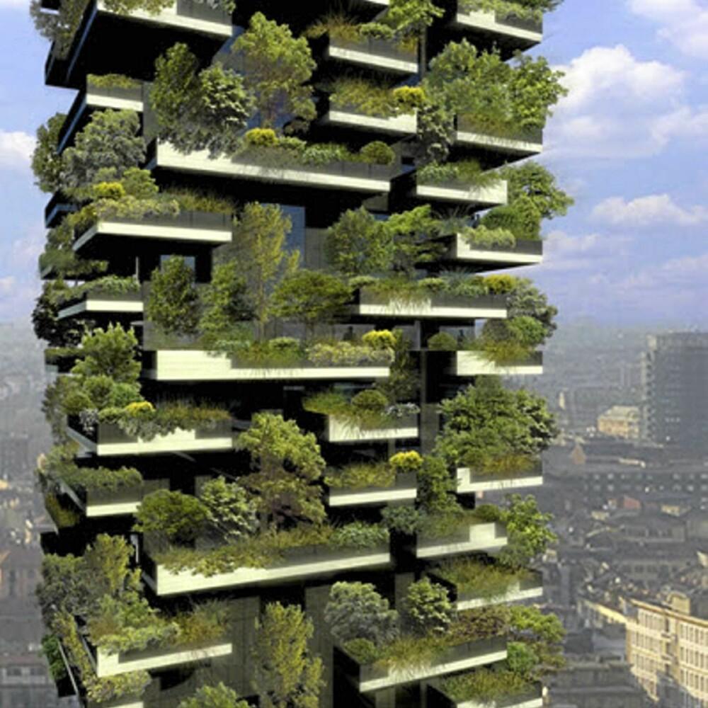 UT I NATUREN: Skal du kjøpe leilighet her må du ikke bare ta stilling til størrelse og beliggenhet, men også hvilke planter du ønsker på balkongen.