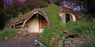 GRØNT: Her bor det verken tusser eller troll, men derimot en mann som er svært opptatt av bærekraftig arkitektur.