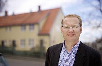 DYRT I SENTRUM: Forbrukerrådgiver i Norges eiendomsmeglerforbund, Carsten Pihl, forteller om harde tider i boligmarkedet. Vil du bo i sentrum må du belage deg på å bo trangt.