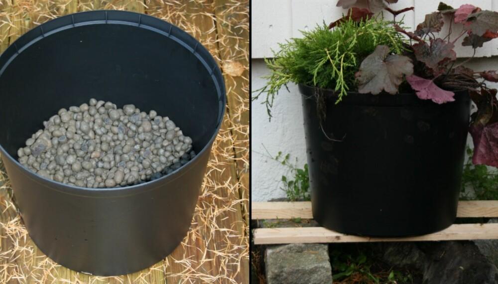 Modernistisk Sørg for at pottene ikke sprekker i vinter - Hage IR-92