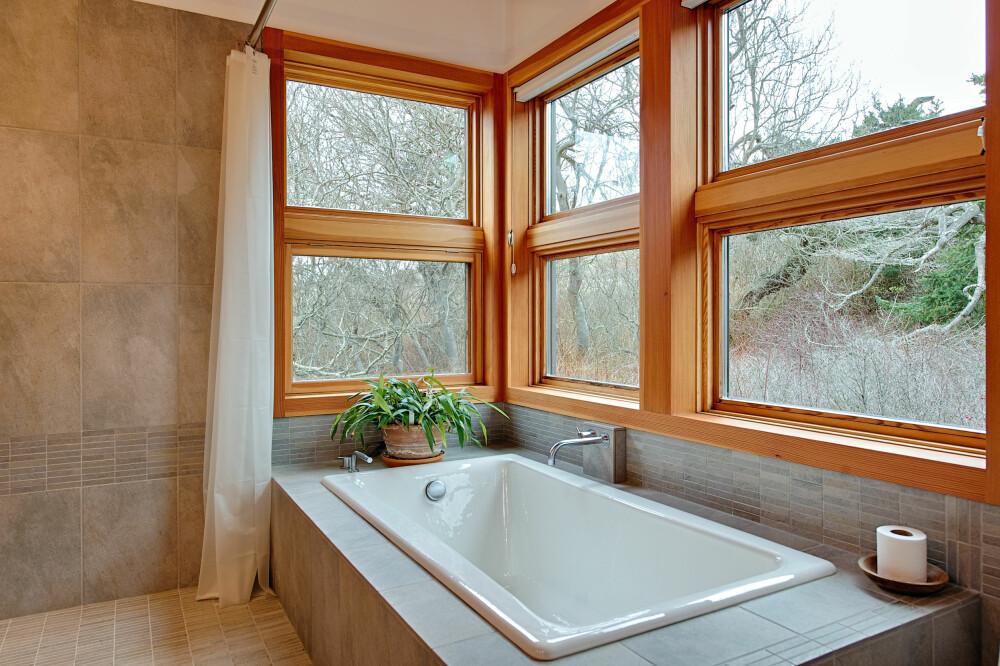 SJELERO: Et badekar med utsikt gir ro i kropp og sinn.