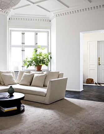 PÅ VISNING: Vær obs dersom leiligheten er stylet med tepper, gardinger og større møbler.