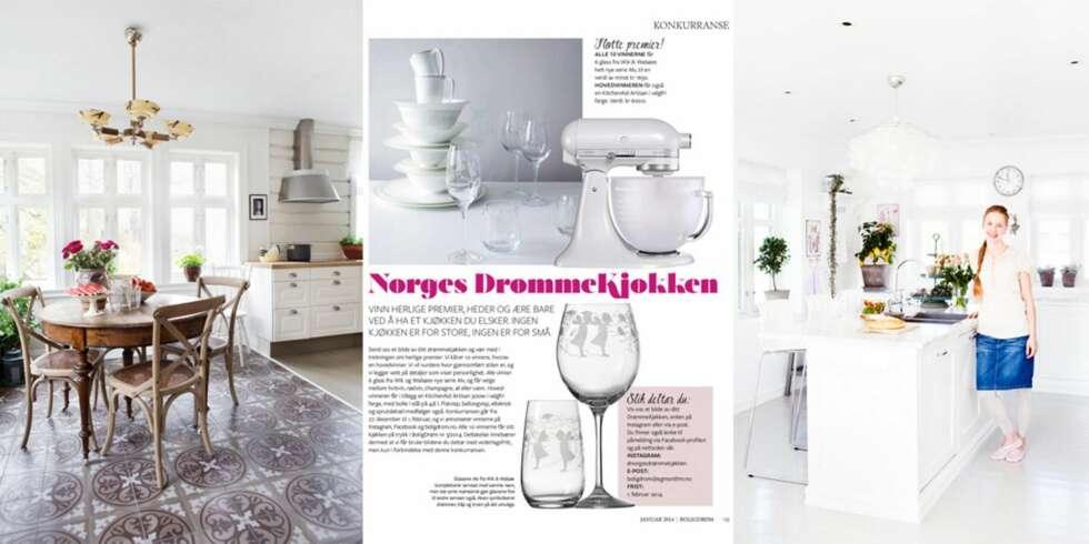 DRØMMEKJØKKEN: Elise Sælid Fjøsne vant årets DrømmeBolig i 2013 ...