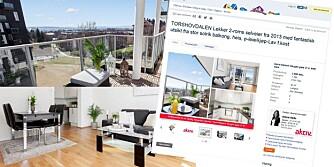 FØRSTEGANGSKJØP: Denne leiligheten av en prisantydning på 2,9 millioner kroner. Men vet du hva omkostningene - som kommer i tillegg - består av?