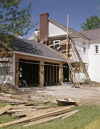 SØKNADSFRITT: Bygg på inntil 50 kvadratmeter, som ikke skal benyttes til beboelse ogsom ellers er i overenstemmelse med reguleringsplanen, kan oppføres uten forutgående søknad.
