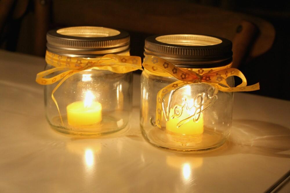 NORGESGLASS: Finn frem de gamle Norgesglassene og bruk dem til noe nyttig eller kreativt.