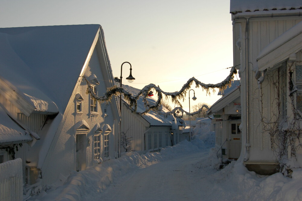 JULEMARKEDER I NORGE: I Åsgårdsstrand ligger omgivelsene virkelig til rette for en stemningsfull førjulstid.