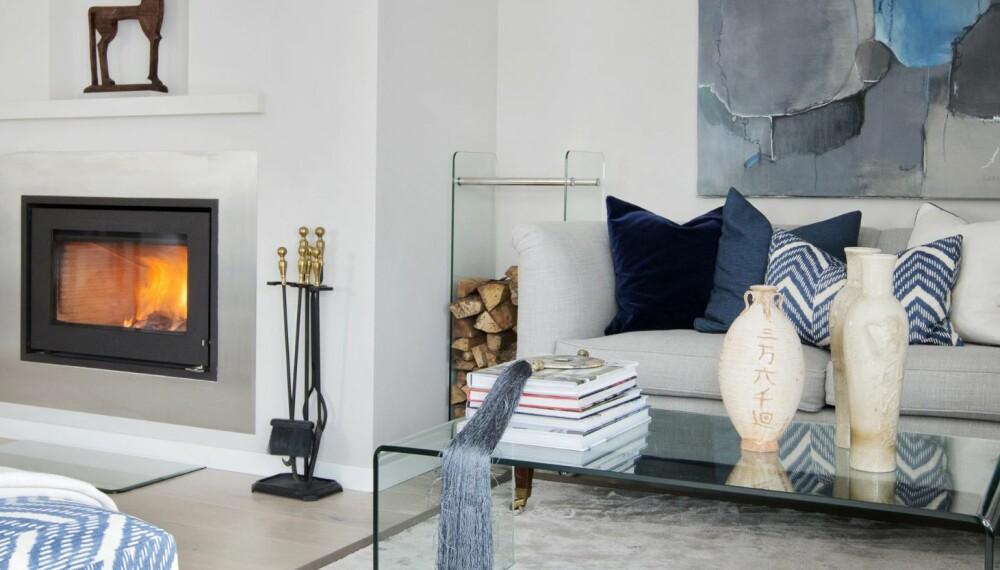 FRESH BOLIG: Resultatet har blitt en vakker og moderne bolig der det er lett å kjenne seg hjemme.