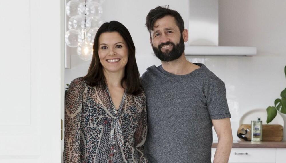 PUSSET OPP GAMMEL BARNEHAGE: Eli Kristine og Bård Fornebo pusset opp en gammel villa som tidligere hadde vært en barnehage.