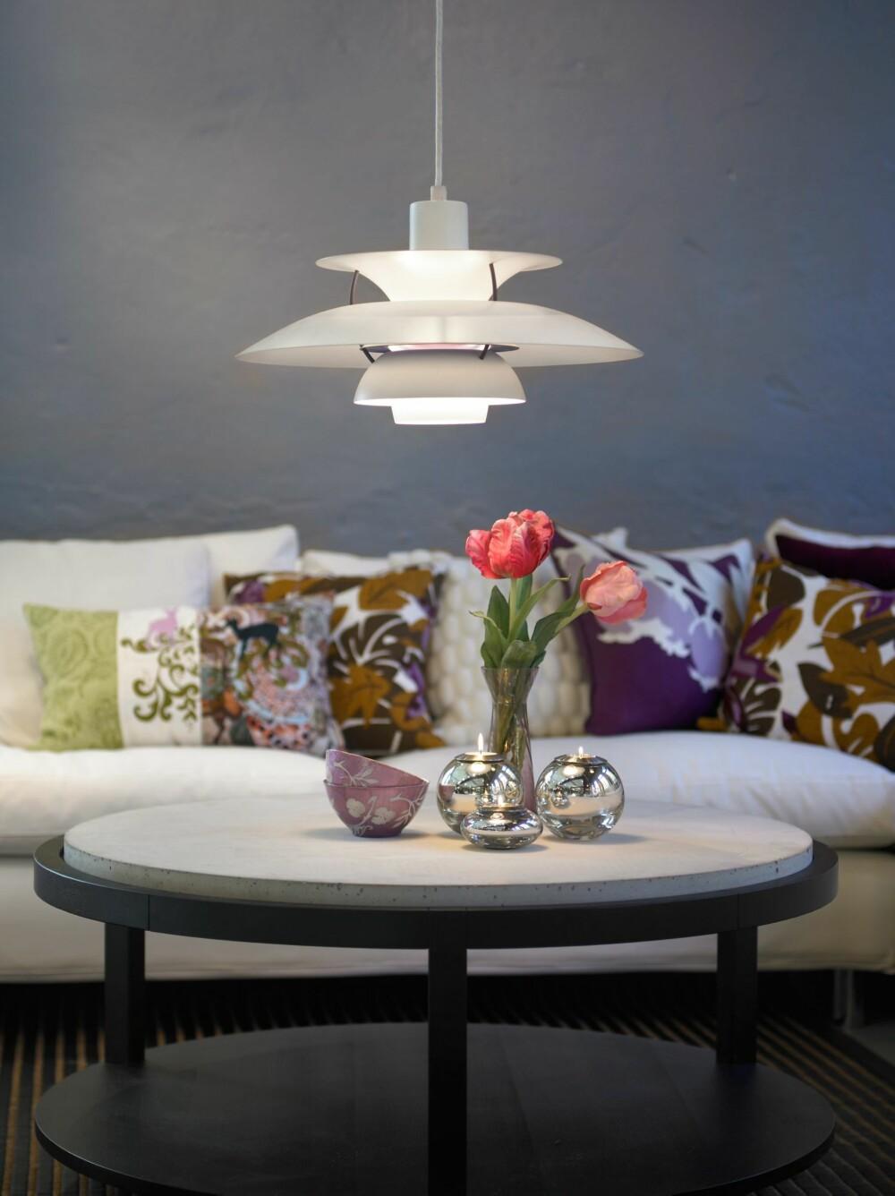 SMART VALG: Når du velger lamper bør funksjon definitivt gå foran estetikk. Når begge deler jobber sammen, som her, er det optimalt.