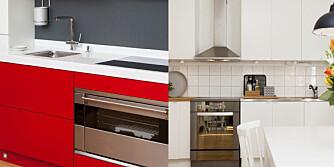 FARGE PÅ KJØKKEN: Ifølge fargeekspert Tove Steinbo kan rødt på kjøkkenet føre til fordøyelsesvansker. Hvitt gir oss generelt veldig lite, mens blått er mest hygienisk.