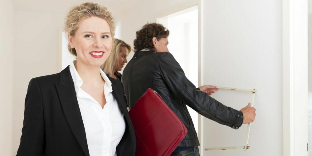 VISNING: Foruten kreative boligannonser, mener salgsekspertene det er svært viktig å skape et positivt førsteinntrykk på visning.