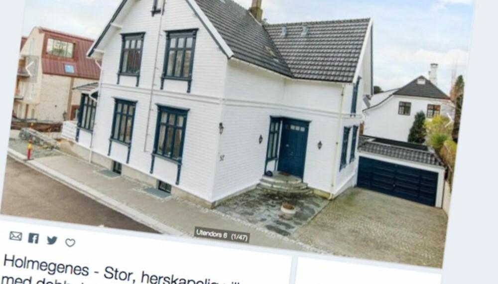 HERSKAPELIG VILLA: Denne lekre villaen i Stavanger kan bli din, dersom du punger ut med 10.5 millioner kroner.