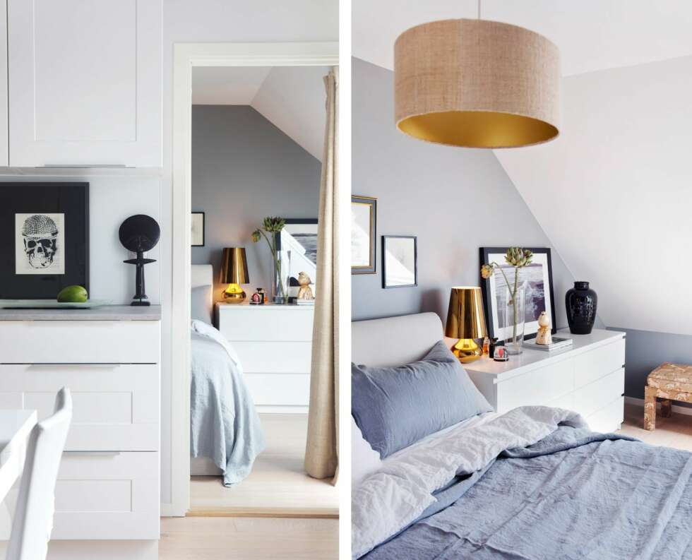 loftsleilighet inspirasjon. Black Bedroom Furniture Sets. Home Design Ideas