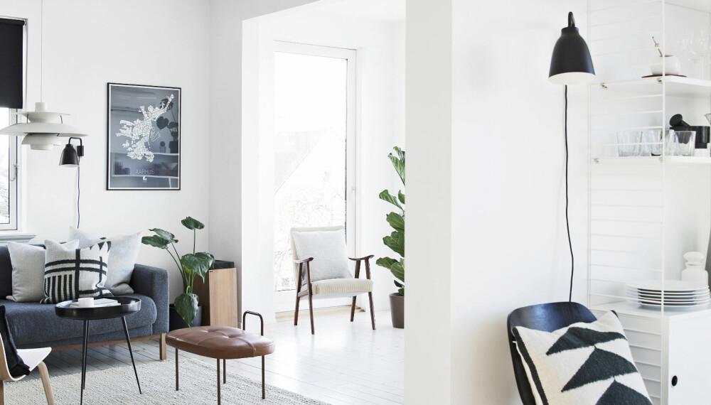 REHABILITERTE HUS I HJEMBYEN: Kine og Kristoffer flyttet fra en nyoppusset leilighet på Tøyen i Oslo og til hjembyen Drammen.