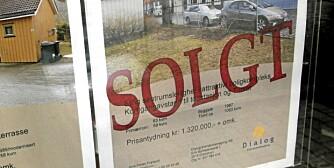 PRISSVINGNINGER: Ifølge statistikken til Eiendomsmeglerforetakenes forening er august en god måned for å selge boligen.