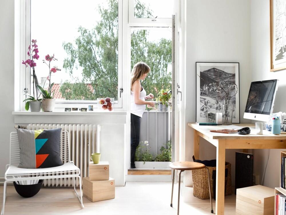GOD PLANLEGGING: Den lille leiligheten er utnyttet på en god måte.