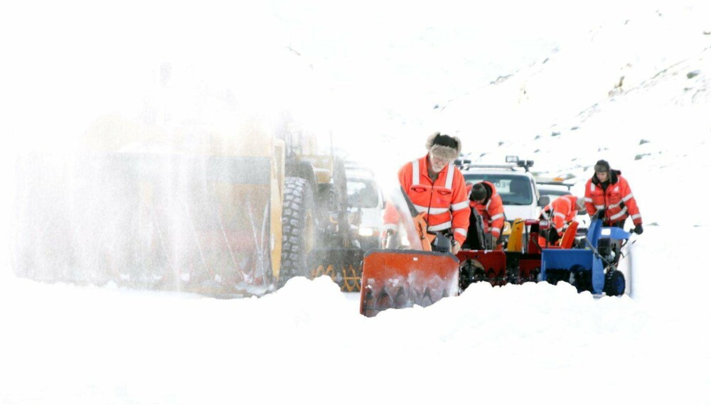 Test: Vi har testet snøfresere.