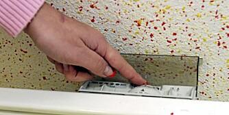 ENERGISPARING: Senking av innetemperaturen er det som gir størst effekt på strømregningen.