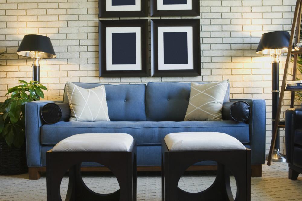 FOR DEN AKTIVE: Har du en veldig aktiv hverdag, og vil hjem og slappe av i sofakroken, er blått eller grønt farger som vil roe deg ned.