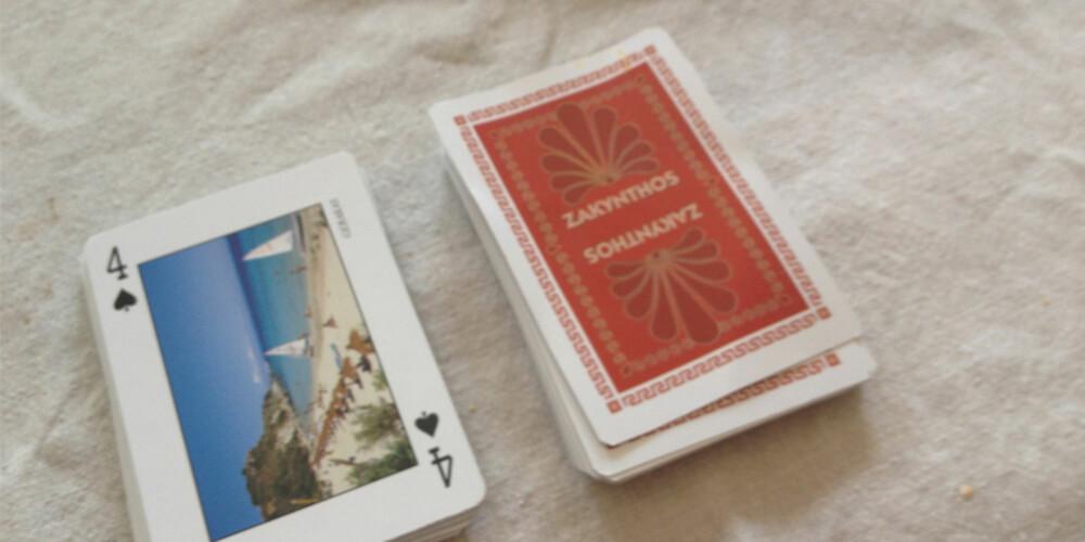 OLSEN: Dette spillet kalles både Olsen og Vri Åtte.