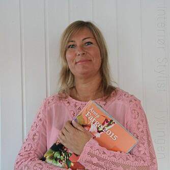INTERIØRSTYLIST: Åse  Jorunn Kokaas. FOTO: Privat.