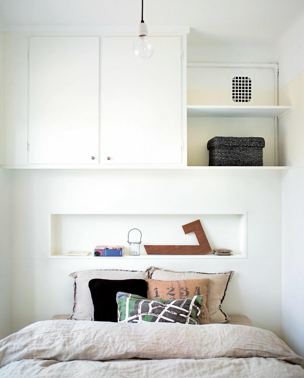 SKREDDERSYDD: Liten plass, eller har du bare lyst til at rommet skal være ekstra funksjonelt? Skreddersydde skap - og hyller er både smart - og fint.